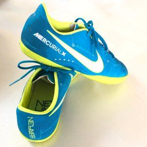 NIKE JR BOYS MERCURIAL INDOOR SHOES